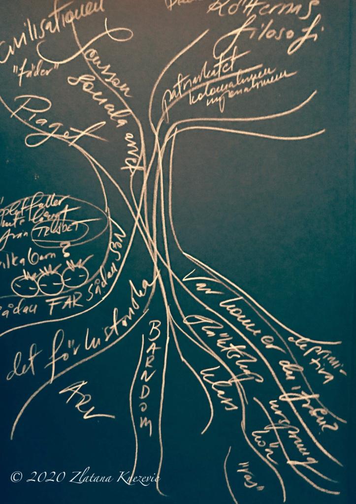 copyright 2020 Zlatana Knezevic research-art the philosophy of roots rotternas filosofi